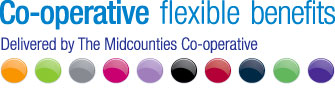 Midcounties Co-operative Flexible Benefits Logo